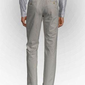 Black Brown gray Chino Straight leg pants